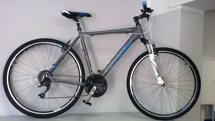 Conway Crossbike - Fit durch den Sommer