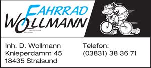 Fahrradfachgeschäft in Stralsund - Fahrrad Wollmann