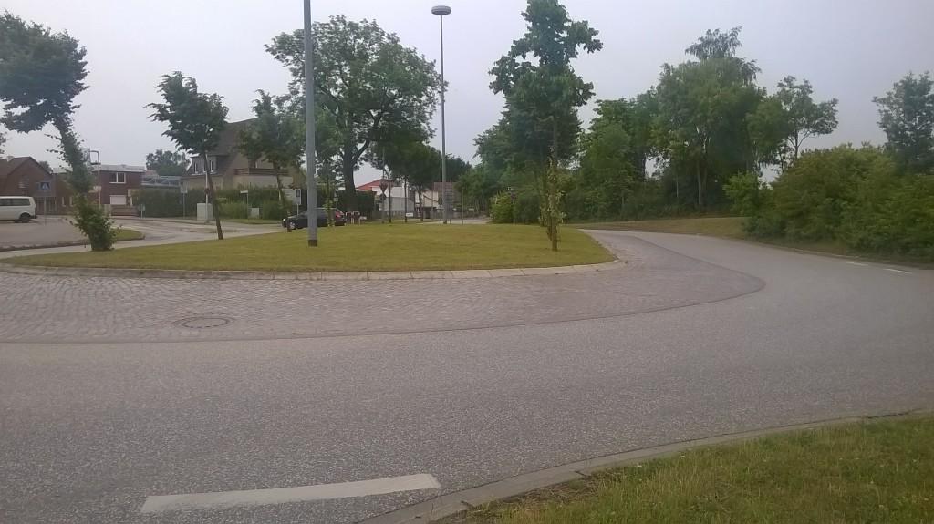 Startpunkt Kreisverkehr Tribseer Vorstadt / Groß-Lüdershäger-Weg / Richtenberger Chaussee