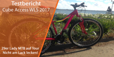 Cube Lady Access MTB WLS berry'n'pink 2017 Test