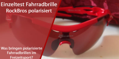 RockBros polarisierte Fahrradbrille im Test