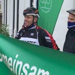 DDR Radsport-Star Olaf Ludwig bei der Tour d' Allee 2020 in Stralsund