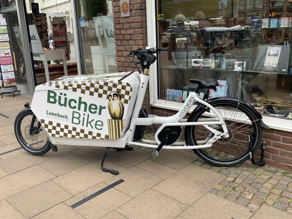 Bücherbike Lüneburg