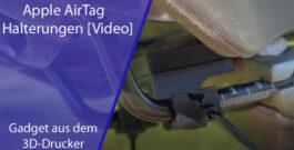 AirTag Halterungen für das Fahrrad 3D-gedruckt + [Video]