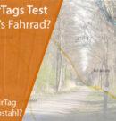 Apple AirTags im Test – Finde ich mein Fahrrad?
